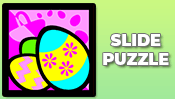Easter Egg Slide Puzzle