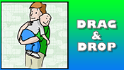 Father's Day Drag & Drop Puzzle