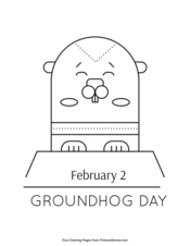 graphic relating to Groundhog Day Word Search Printable referred to as Groundhog Working day Worksheets: Groundhog Working day Term Seem Puzzle