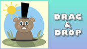 Groundhog Drag & Drop Puzzle