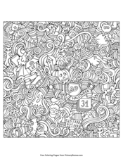 Halloween Coloring Pages Free Printable Pdf From Primarygames
