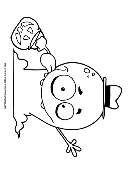 Monster Coloring Page Free Printable Pdf From Primarygames