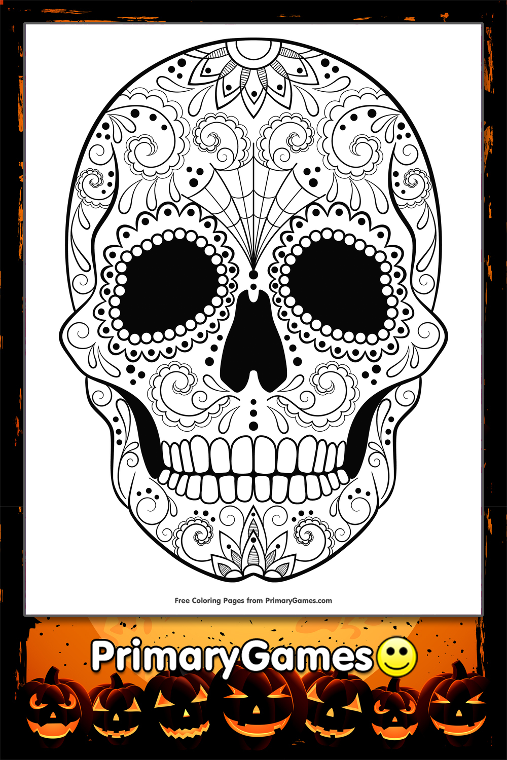 11 Candy Skull further Post spooky Writing Font 334578 furthermore How To Draw A House In Houses Coloring Page besides Nightmare Before Christmas Jack In Box in addition 4135. on scary birthday pic