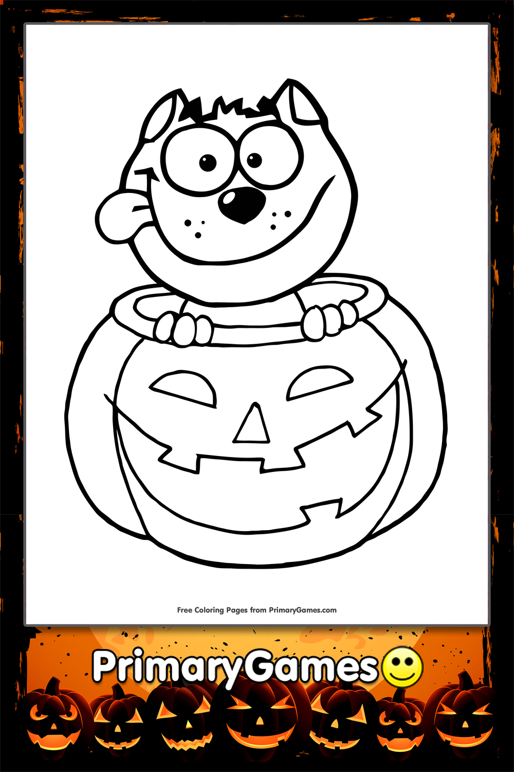 happy halloween coloring pages games - photo#29