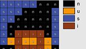 Halloween Alphabet Mosaics