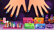 Sarah's Halloween Nail Art