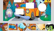 Halloween Shape Puzzle
