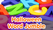 Halloween Word Jumble