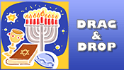 Hanukkah Drag & Drop Puzzle