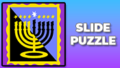 Menorah Slide Puzzle