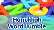 Hanukkah Word Jumble