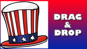 Fourth of July Drag & Drop Puzzle