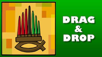 Kwanzaa Drag & Drop Puzzle