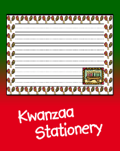Kwanzaa Stationery