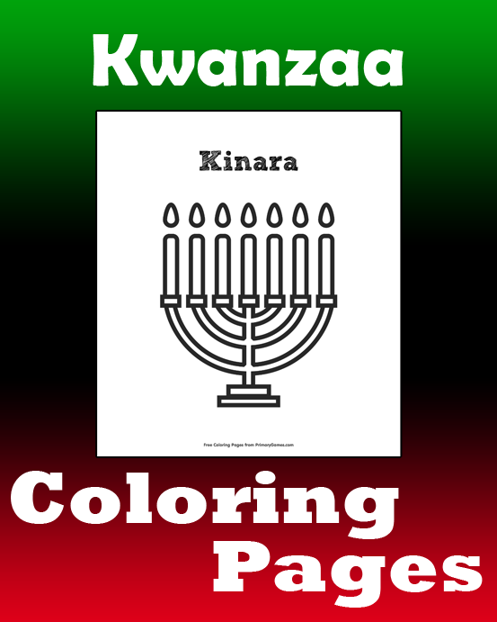 Kwanzaa Coloring Pages Printable