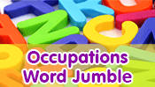 Occupations Word Jumble