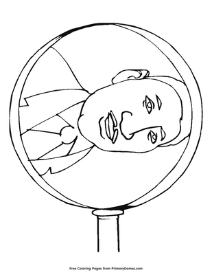 MLK Martin Luther King Jr Day Coloring Pages Printable | 400x309