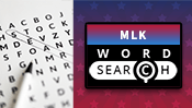 MLK Day Word Search Puzzle