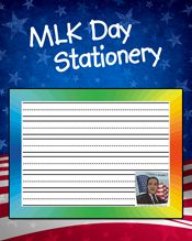 MLK Day Stationery