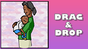 Mother's Day Drag & Drop Puzzle