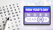 New Year's Day Word Search