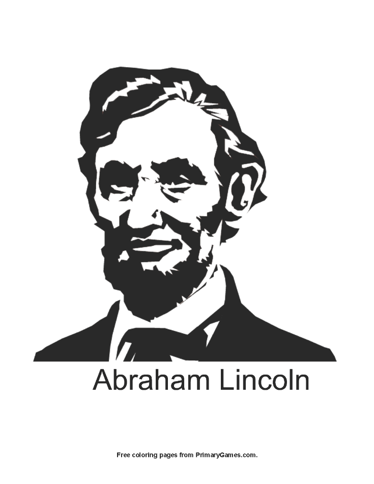 We Hope You Enjoy Our Online Coloring Ebooks Or Print Out This Abraham Lincoln Page To Color It For Free