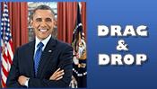 President Barack Obama Drag & Drop Puzzle