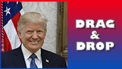 President Donald Trump Drag & Drop Puzzle