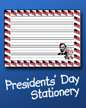 Presidents' Day Stationery