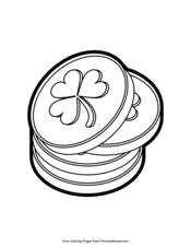 Leprechaun Gold Coins
