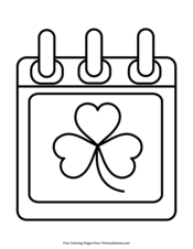 St Patrick S Day Coloring Pages Free Printable Pdf From Primarygames