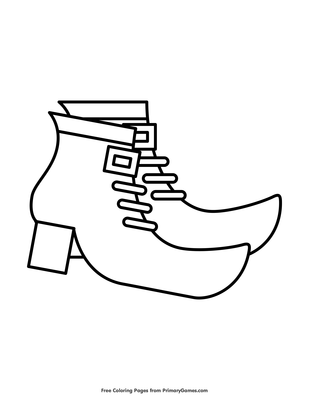 Baby Shoes Coloring Pages - Get Coloring Pages | 400x309
