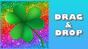 Shamrock Drag & Drop Puzzle