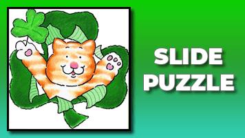 Shamrock Slide Puzzle