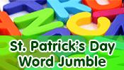St. Patrick's Day Word Jumble