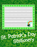 St. Patrick's Day Stationery
