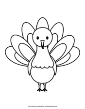 Thanksgiving Coloring Pages • FREE Printable PDF from ...