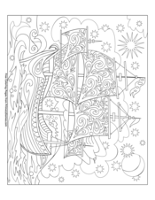 FREE Thanksgiving Coloring Pages for Adults & Kids - Happiness is ... | 226x175