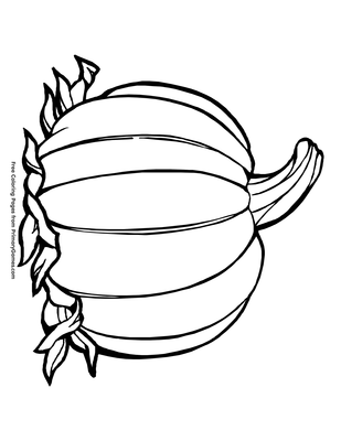 photo relating to Pumpkin Coloring Sheets Printable called Pumpkin Coloring Website page Printable Thanksgiving Coloring