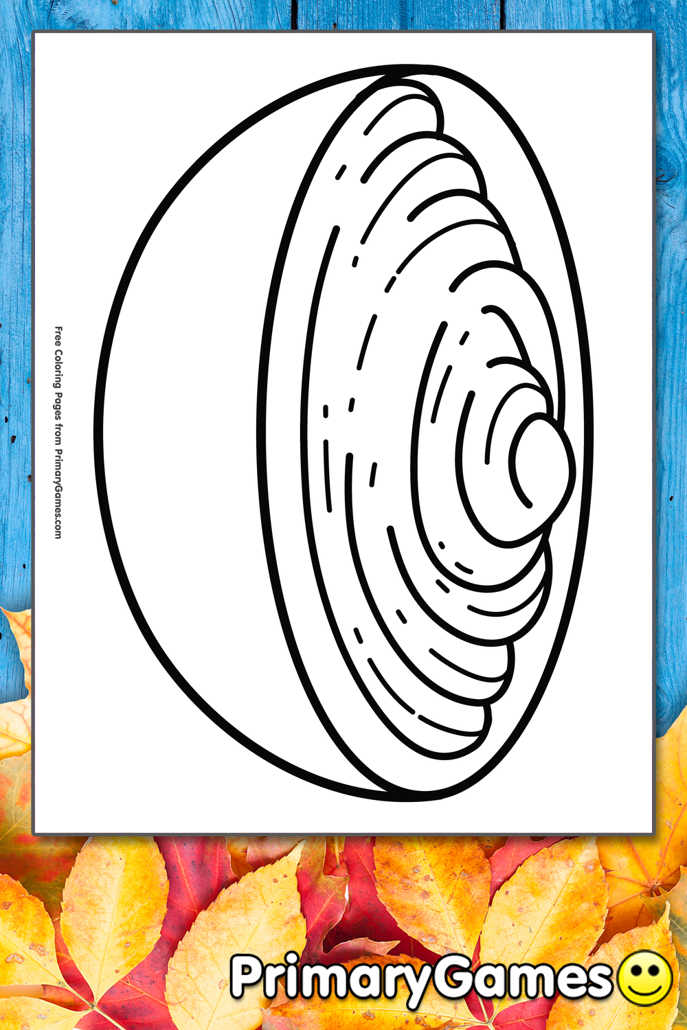 Mashed Potatoes Coloring Page