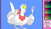 Turkey Online Coloring