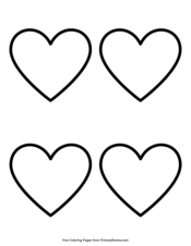 Simple Heart Outline 4