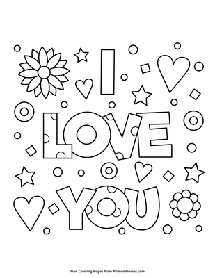 I Miss You Coloring Pages to Print, We Miss You ,I Will Miss You ... | 400x309