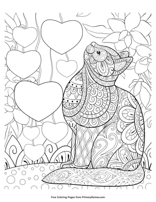 Coloring book Colouring Pages Heart Zentangle, heart crown picsart ... | 400x309