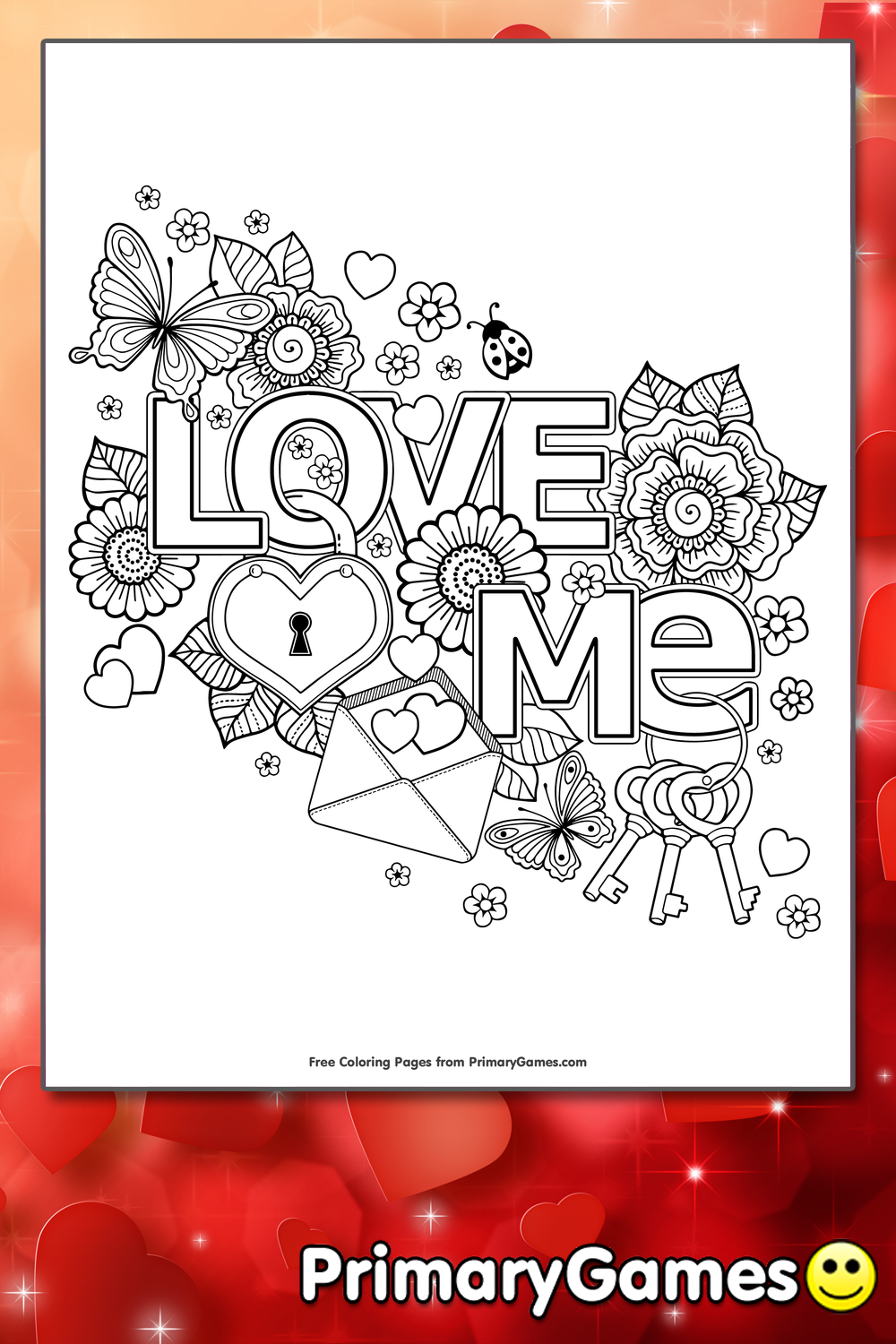 I Love You Coloring Pages Pdf : Love you to the moon and back coloring pages