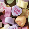 Conversation Heart Candy Jigsaw Puzzle