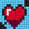 Valentine Mosaics 16x16