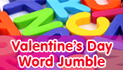 Valentine Word Jumble
