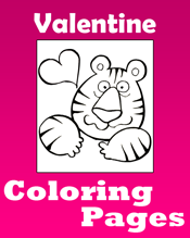 Valentineu0027s Day Coloring Pages