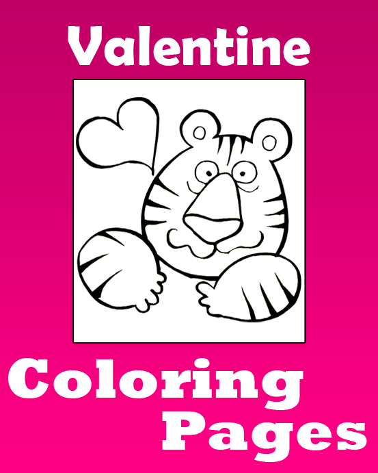 Valentine\'s Day Coloring Pages | Printable Coloring eBook - PrimaryGames